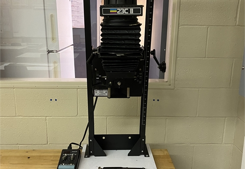 BESELER 23IIC PHOTOGRAPHIC ENLARGER SET-UP (#4)
